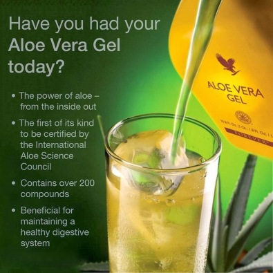Try the Power of Aloe